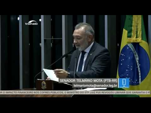Sessão deliberativa - TV Senado ao vivo - Plenário - 27/11/2018