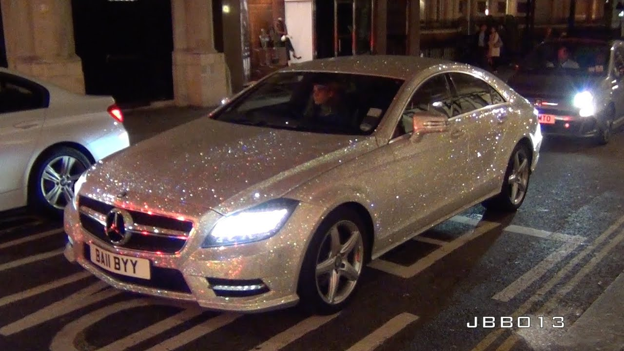 Crystal Covered Car
