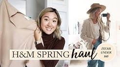 H&M SPRING HAUL & TRY ON: What I Got For $350 (9 Items)