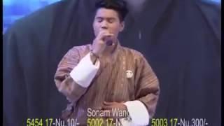 Rigsar Song 🎶Hingtam Luchi Lensho La🎶 By 🎤Sonam Wangdi From The Voice Of Bhutan 🇧🇹 Ep18.