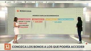 IFE, Bono Covid y Bono Clase Media: Ministra Rubilar explica cómo acceder a bonos