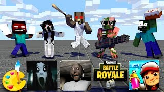 Monster School SEASON 3 ALL EP SODE   Minecraft Animation