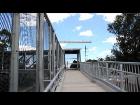 CityRail Footbridge at the Former site of Old Schofields Railway Station