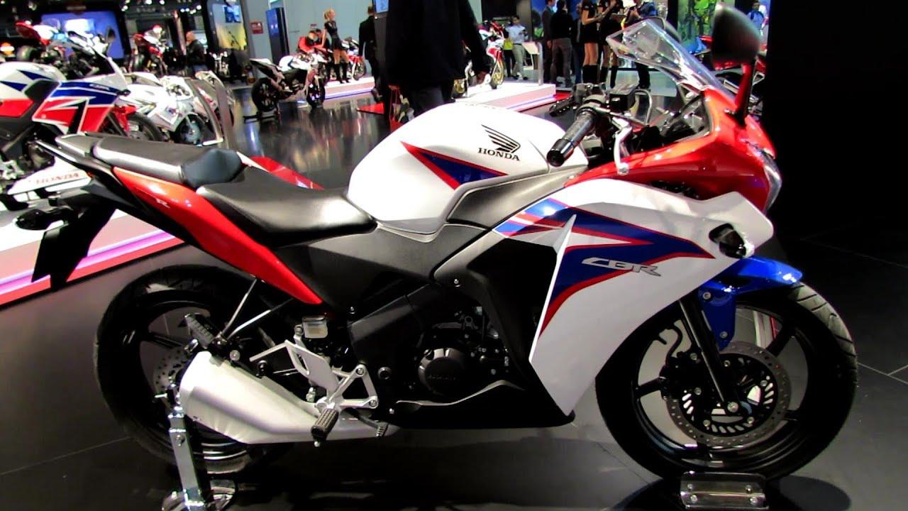 2014 Honda Cbr125r Walkaround 2013 Eicma Milan Motorcycle Exibition Youtube