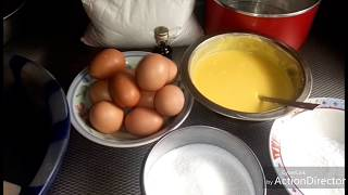 CAKE WITHOUT MIXER AND OVEN HOW TO MIX CAKE WITH HAND.