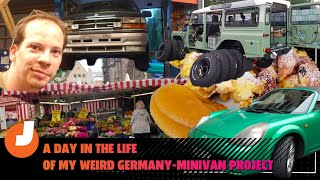 homepage tile video photo for A Day In The Life Of My Weird Germany-Minivan Project