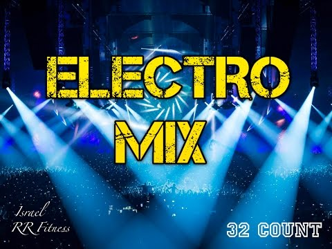 """ELECTRO"" StepAerobicBoxingJump Music Mix #10 137 bpm 32Count 2017 Israel RR Fitness"