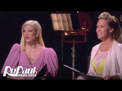 Jennie Garth Gives Acting Advice to Nina | RuPaul's Drag Race Season 9 | VH1