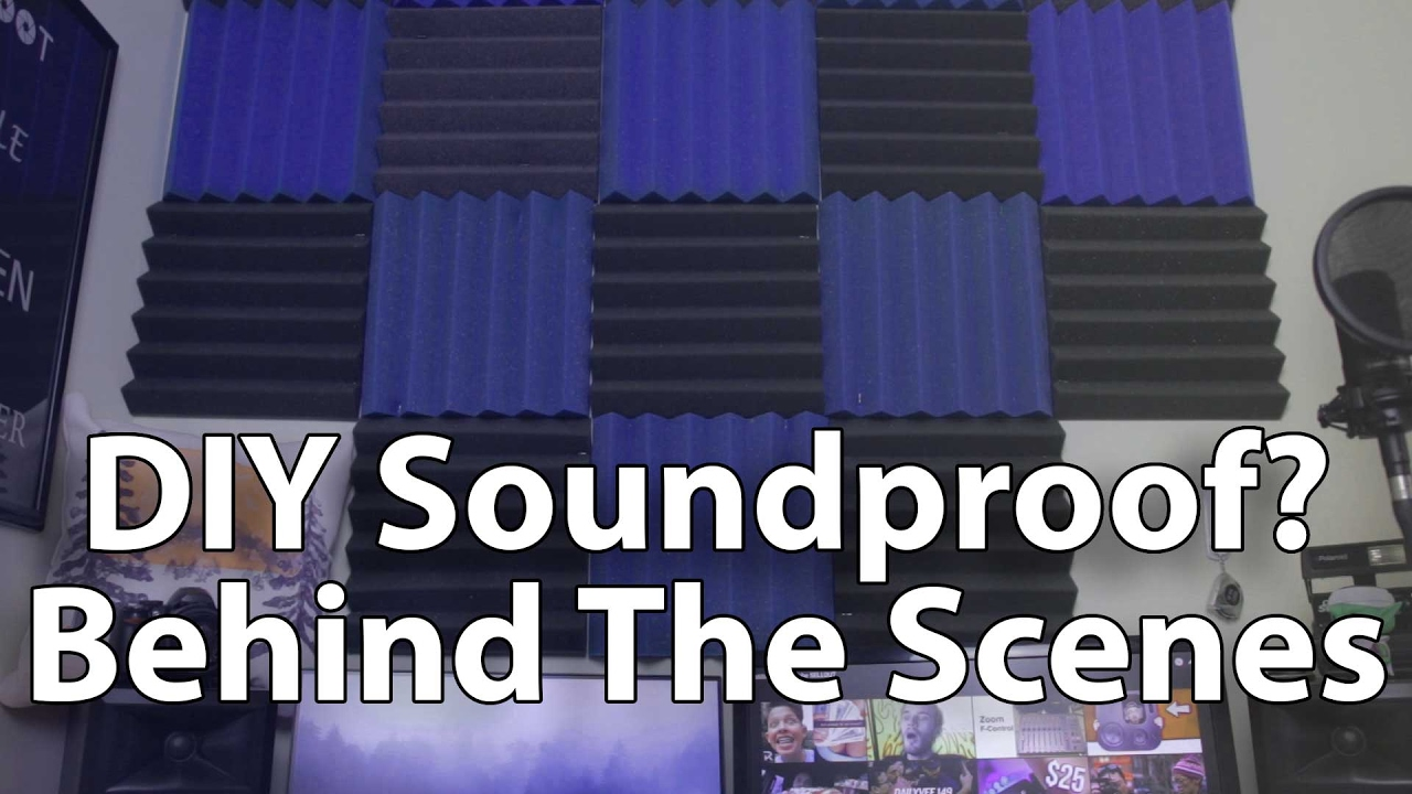 30 diy sound proofing diy sound treatment behind scenes safe 30 diy sound proofing diy sound treatment behind scenes safe free quick install in apartment solutioingenieria Gallery