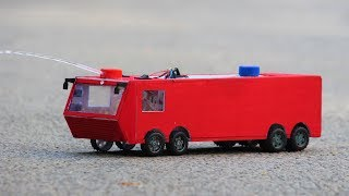 How to make a truck - RC Fire truck