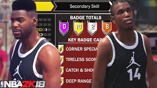 NBA 2K18 My Career! Creating A Walking Bucket SG - NBA 2K18 Prelude Gameplay