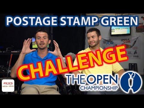 Royal Troon Postage Stamp Green Challenge
