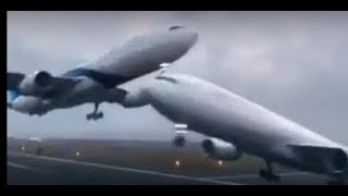 jise Allah Rakhe usy kon chakhy - Unbelievable aeroplane landing on the motorway