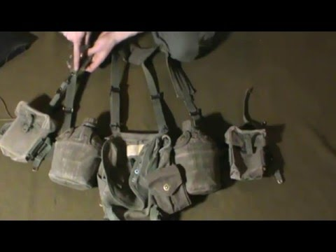 How To Assemble Your Vietnam Web Gear