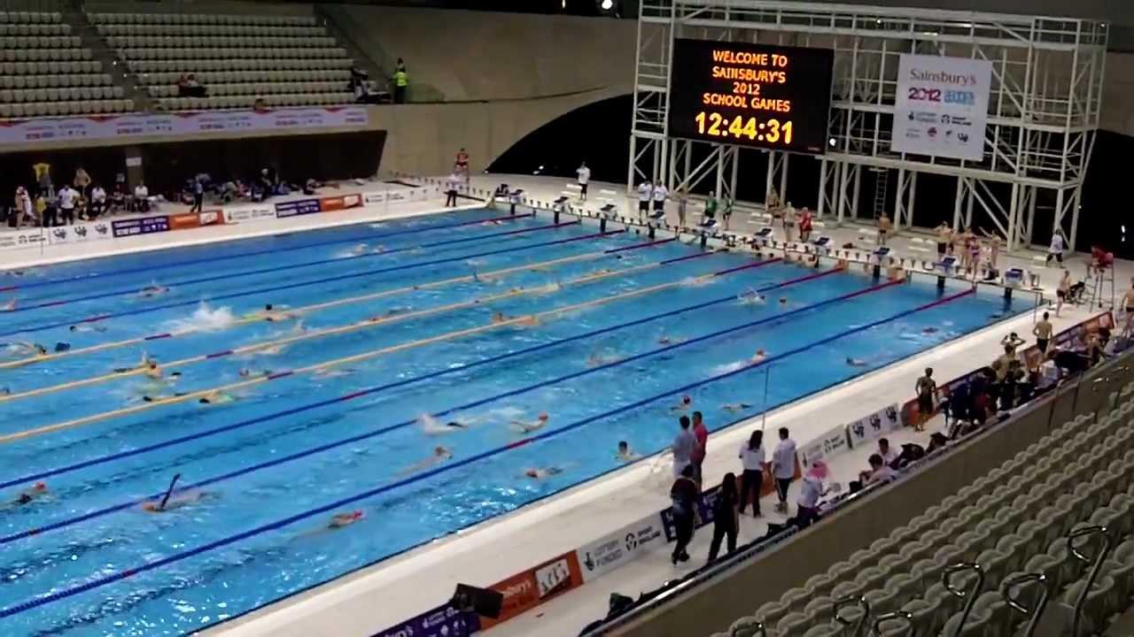 Olympic Swimming Pool 2012 london 2012 olympics aquatics centre: swimming - youtube