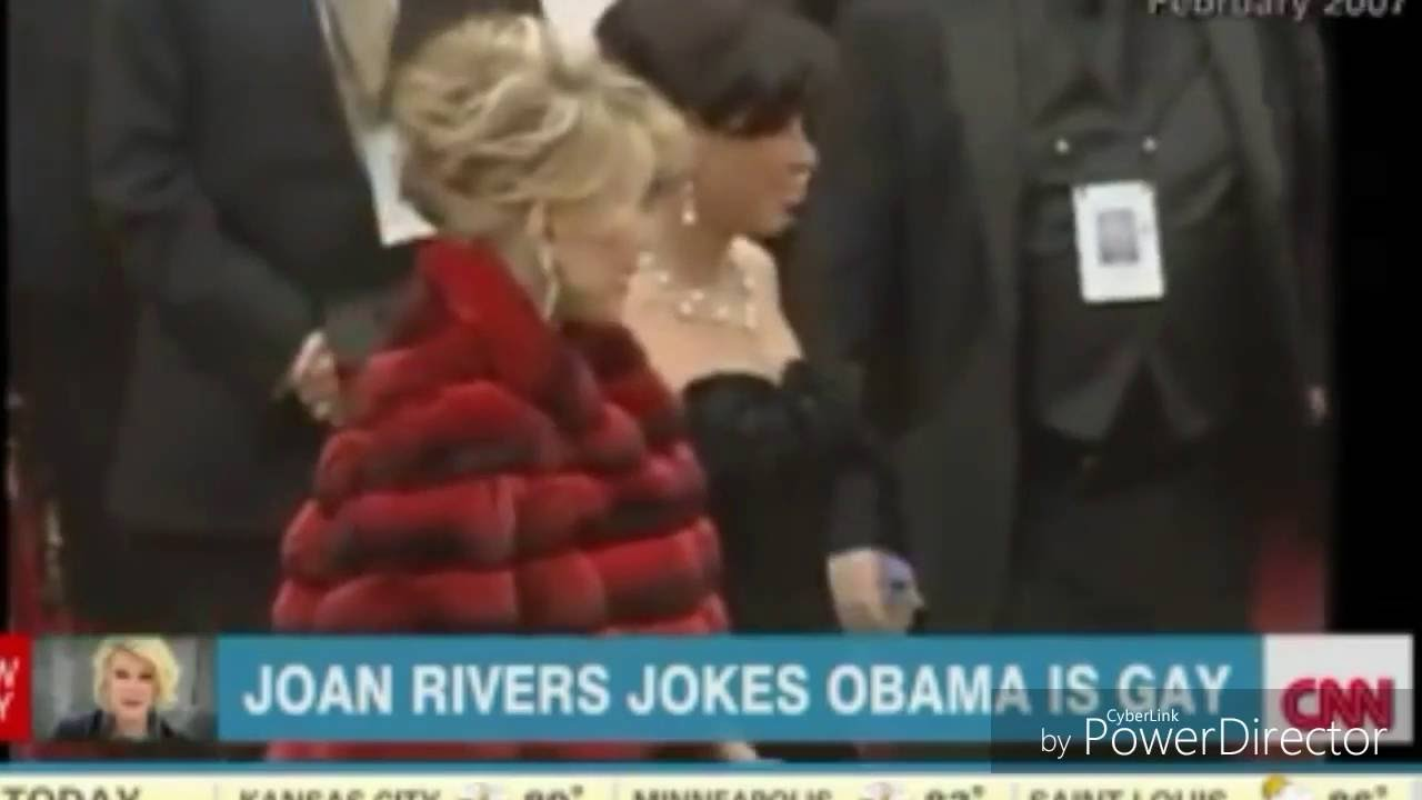 Shocking! Did Obama Murder Joan Rivers?