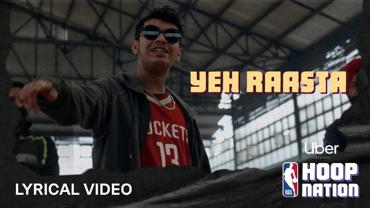 Yeh Raasta - Lyrical Video | Ft. Kaam Bhaari | RĀKHIS and NUKA | Uber X NBA Hoop Nation