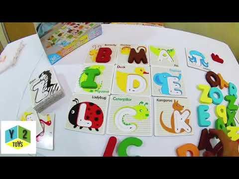 Alphabet A-Z Learning Card