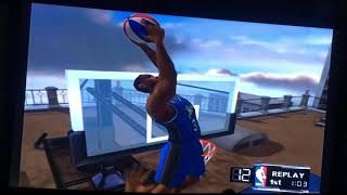NBA Courtside 2002 Arcade Play Mode - Orlando Magic VS Toronto Raptors (Part 1/1st Quarter)