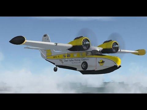 Unedited Flight to Glacier Natl. Park.