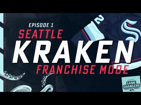 NHL 21 Seattle Kraken Franchise: Episode 1 - Draft & Pre-Season