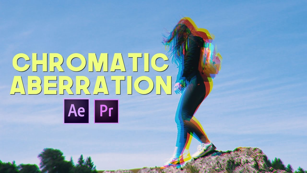 RGB Chromatic Aberration (2 WAYS Premiere Pro AND After Effects)