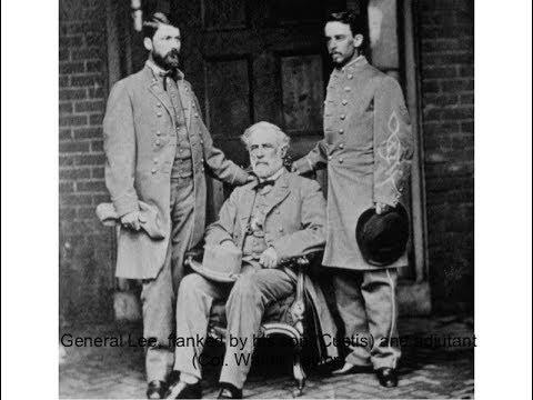 Robert E. Lee After the Civil War (Virginia Time Travel)