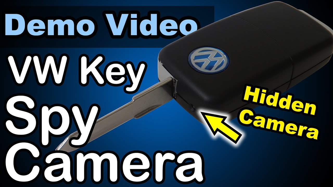 Vw Car Key Spy Camera Demo Youtube