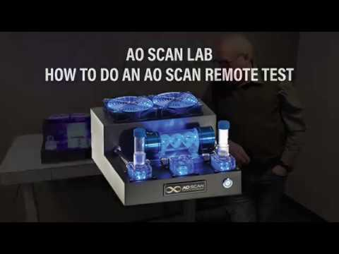 How to do a remote scan using the AO lab