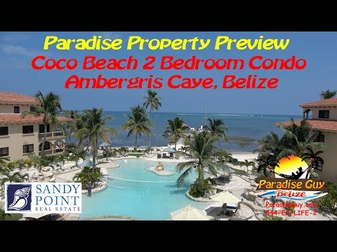 HD Video Tour of a 2 bedroom Condo at Coco Beach Resort in Belize