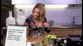 Ep 08 - Justine Drake - Warm Roasted Veg And Chickpea Salad