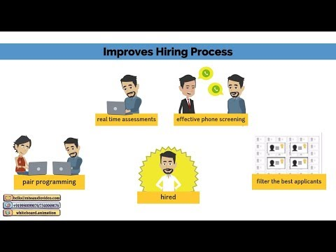 ✅ Recruitment And Selection Process Animation Promo Ads Recruit Video: Interact By Xobin