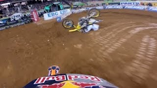 GoPro: Ken Roczen and Ryan Villopoto's Battle for First – 2014 Monster Energy Supercross Atlanta