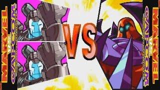MARVEL VS CAPCOM: Clash of Super Heroes (ARCADE CPS2) 1CC - War Machine && War Machine Playthrough