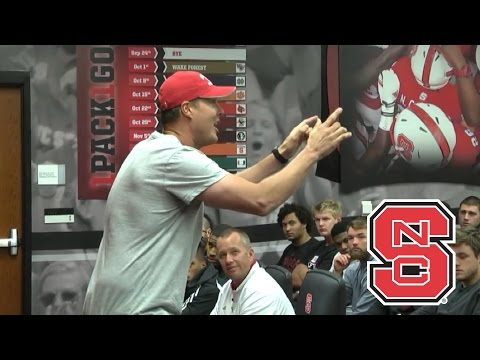 Philip Rivers Delivers Motivational Speech To NC State Football Team