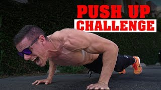 The INSANITY Push Up Challenge!