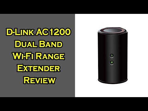 D-Link Wireless AC1200 Wi-Fi Range Extender Review