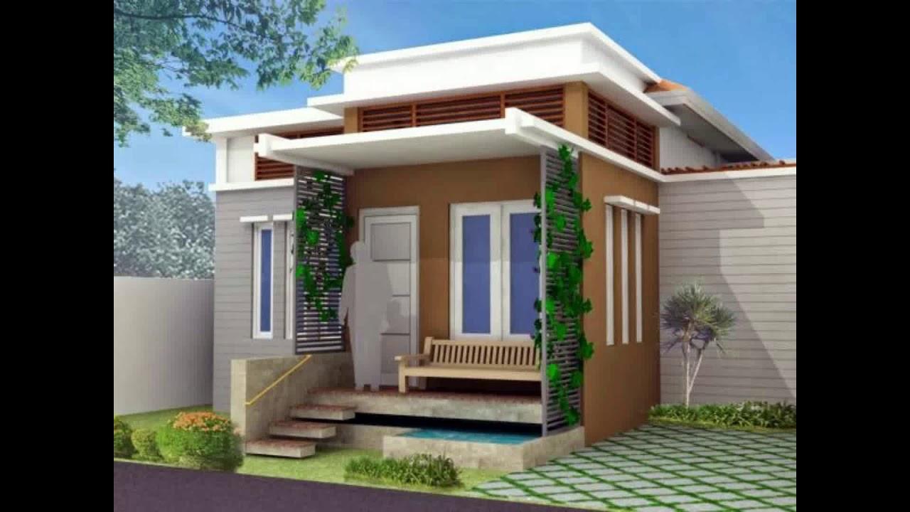 Desain Rumah Minimalis Type 21 Yang Sedang Trend - YouTube