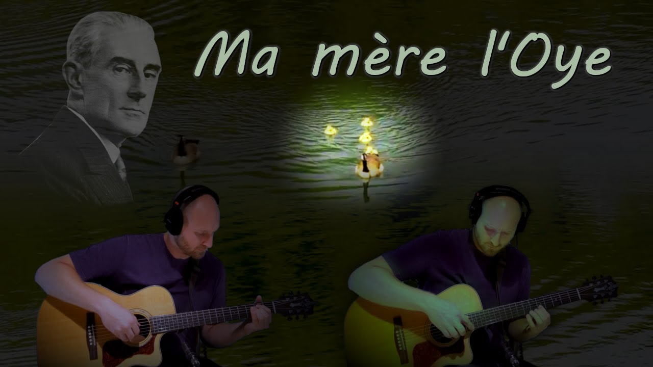 Maurice Ravel Ma Mère L Oye 1st Mvt 2 Guitars Youtube