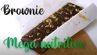 BROWNIE SUPER NUTRITIVO - Cómo me sano