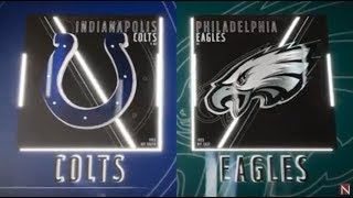 Indianapolis Colts vs Philadelphia Eagles Madden 19 Full Game Simulation Nation