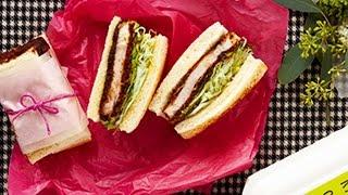 みそかつサンドの作り方 How To Cook Miso Pork Cutlet Sandwich   abc Cooking Studio