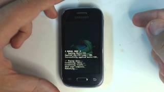 Samsung Galaxy Young S6310 - How to reset - Como restablecer datos de fabrica