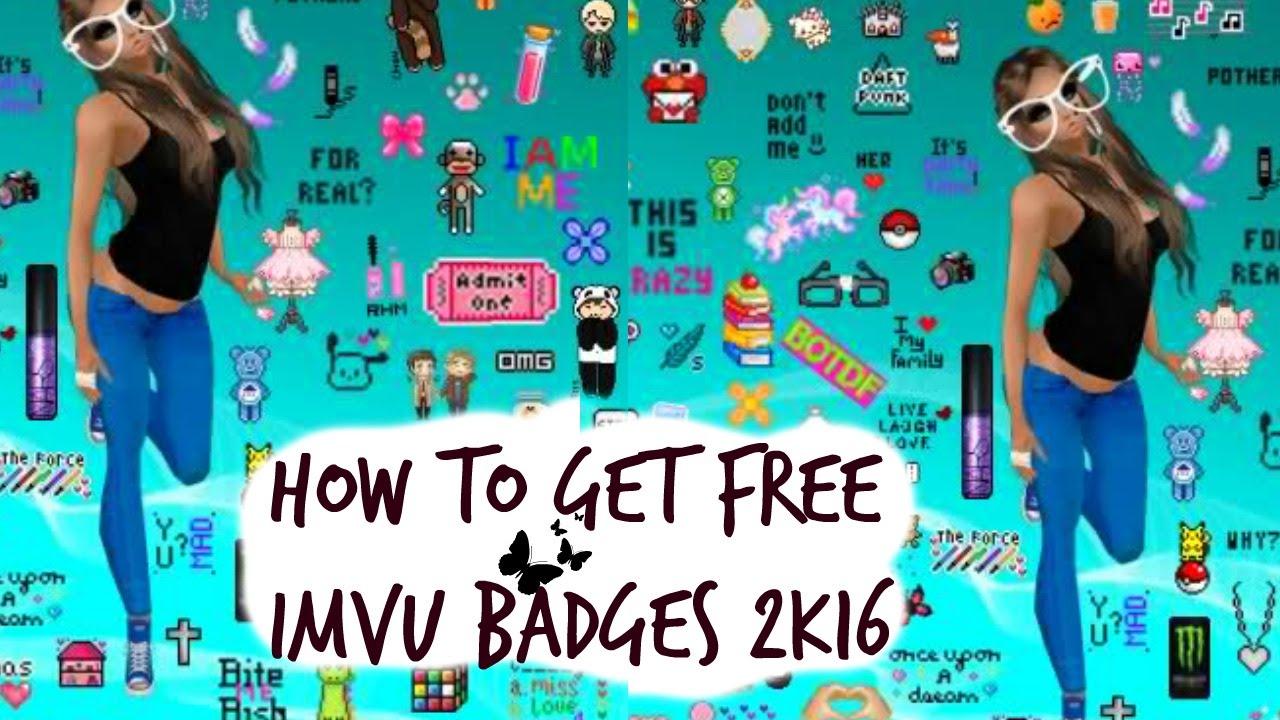 how to create imvu badges