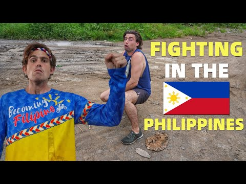 FOREIGNERS FIGHT In The PHILIPPINES - Friend Thinks I CHEATED! @Bret Maverick