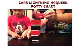 Cars Lightning McQueen Potty Chart