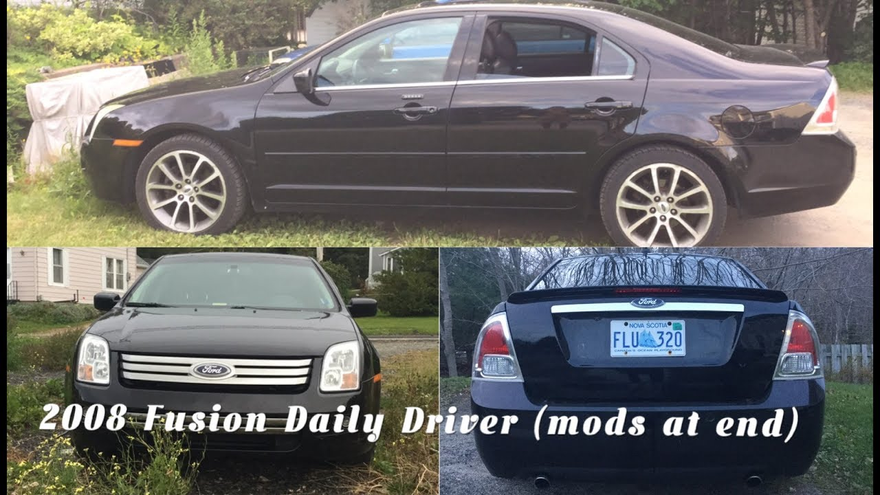Ford Fusion Mods >> 2006 2012 Ford Fusion Sel V6 Review 2008 1st Gen 3 0 Mods At