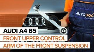 Remove Suspension arm AUDI - video tutorial