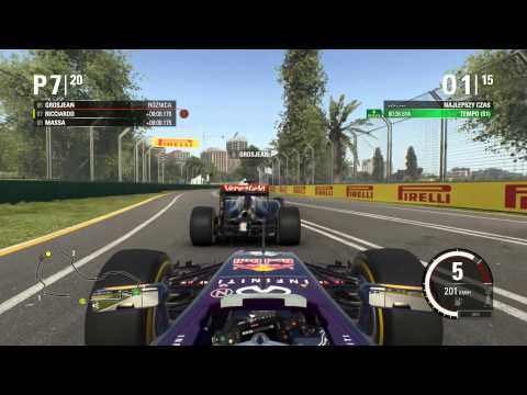 F1 2015 Kariera   Daniel Ricciardo   GP Australii (#1)