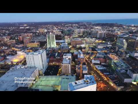 Stamford Ct Aerial Footage